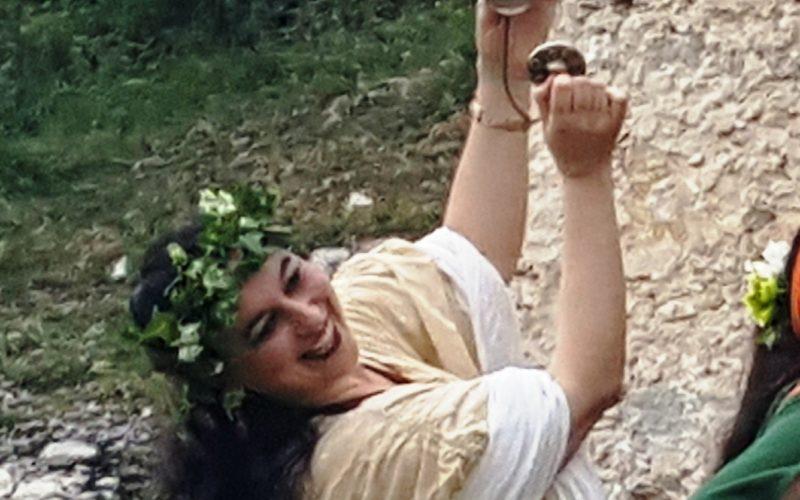 DANZE DELL'ANTICA ROMA e TAVOLO ESPOSITIVO DELL'ORNATRIX