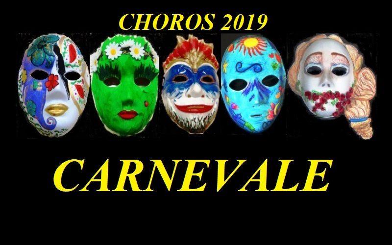 CARNEVALE CHOROS 2019
