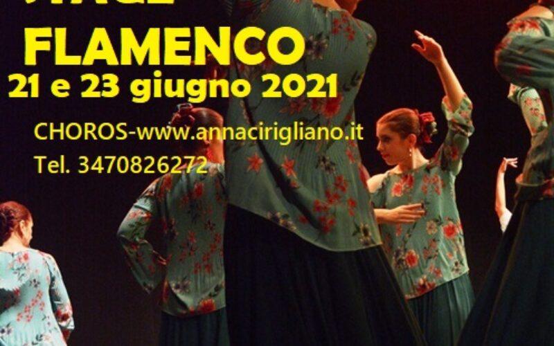 STAGE FLAMENCO-21 E 23 GIUGNO 2021