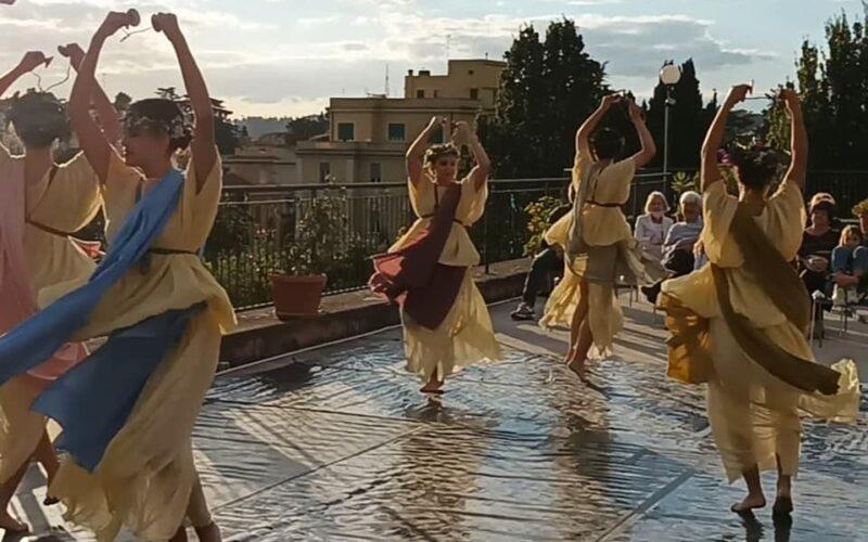 Ipotesi di danza dell'antica Roma-9 ottobre 2021