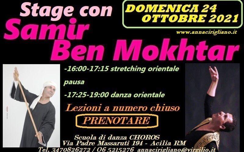 STAGE DI STRETCHING ORIENTALE E DANZA ORIENTALE