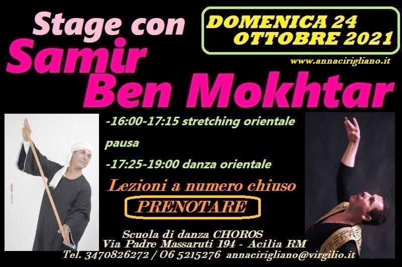 Stage con Samir Ben Mokhtar